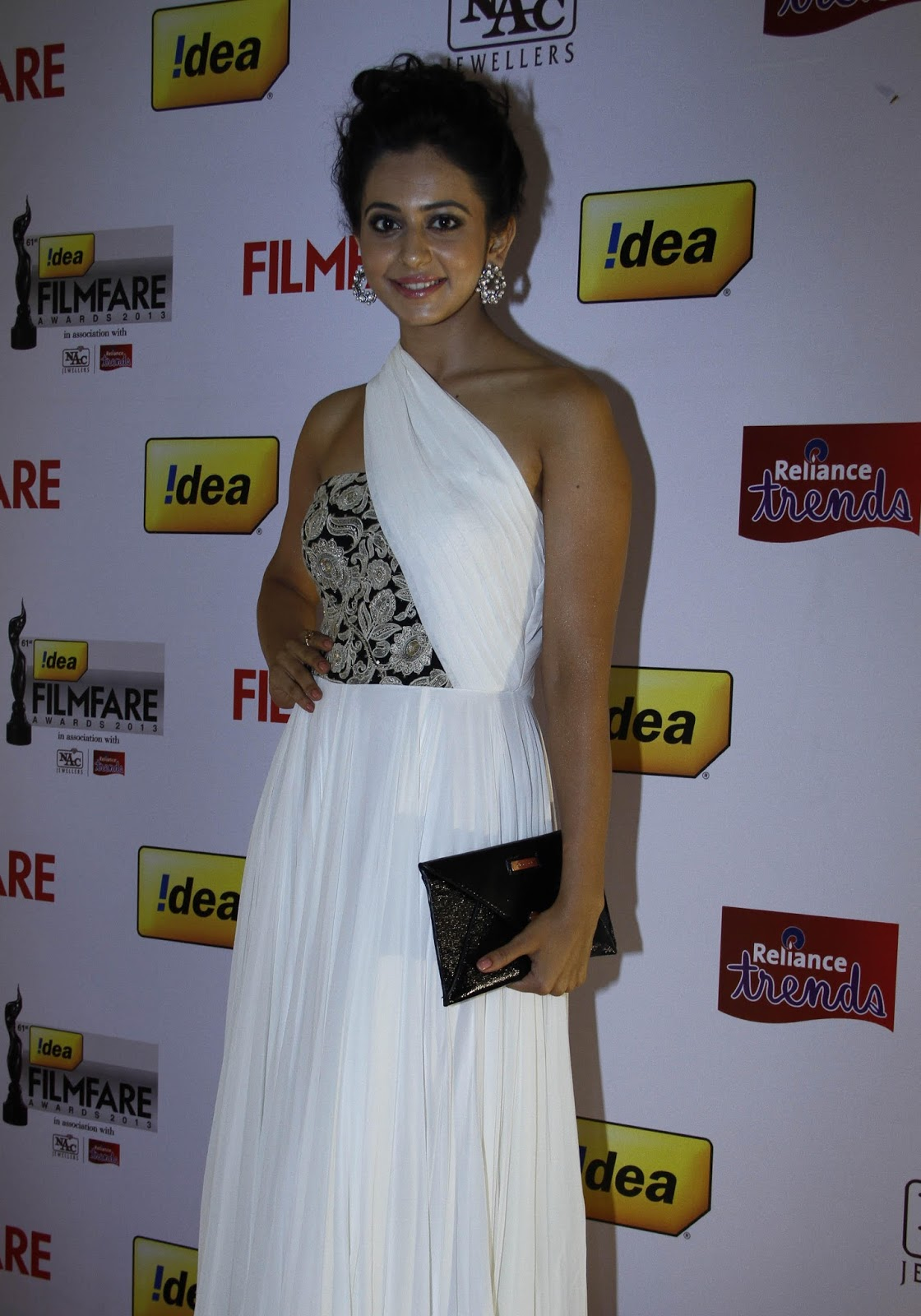 Rakul Preet Singh Stills In Beautiful White Dress