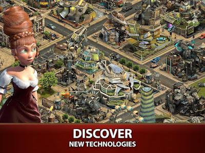 تحميل لعبة Forge of Empires للاندرويد مجانا