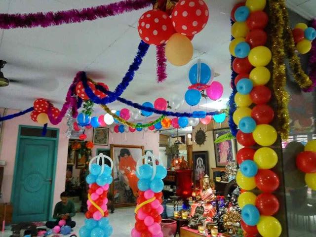 Balon Dekor ruangan rumah