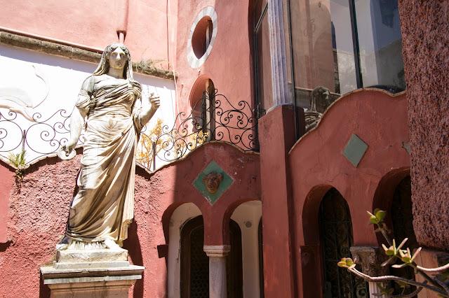 La Casa rossa-Anacapri-Capri