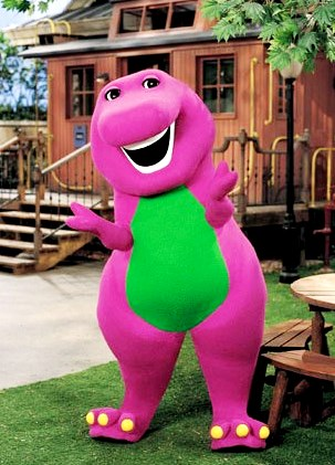 Foto de Barney con una linda sonrisa