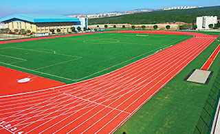 atletizm, atletizm pisti, atletizm pisti ölçüleri, atletizm pisti özellikleri, atletizm pisti çizimi