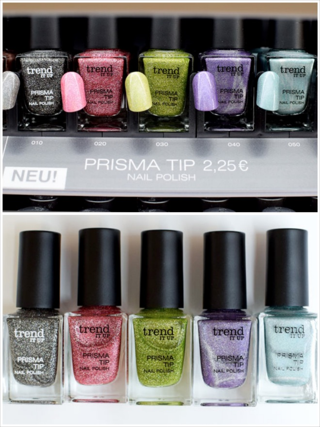 trend IT UP Prisma Tip Nagellack, Neues Sortiment, neue Nagellacke