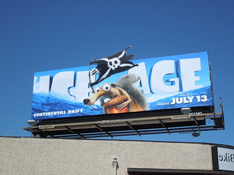 Ice Age 4 Continental Drift billboard
