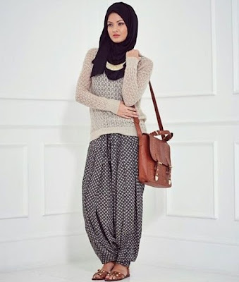 fashion hijab casual terbaru