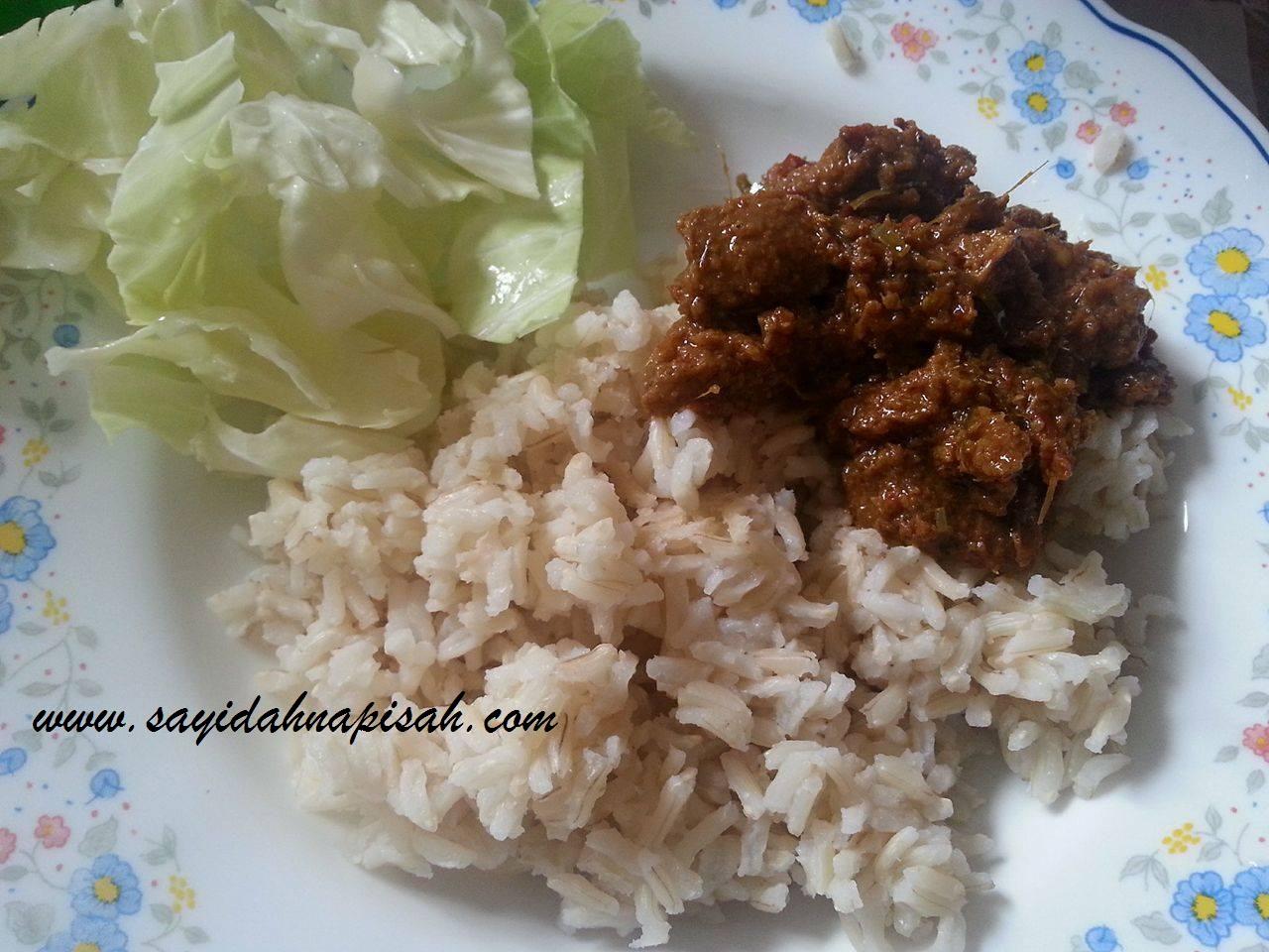 rendang nasi