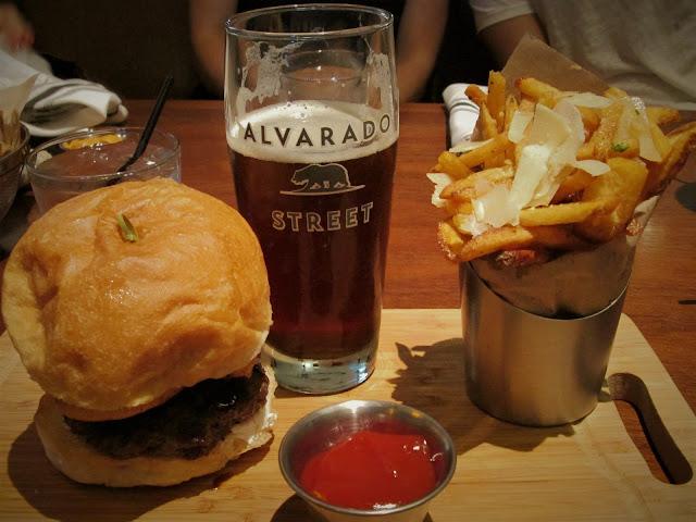 Hamburger Alvarado Street Brewery