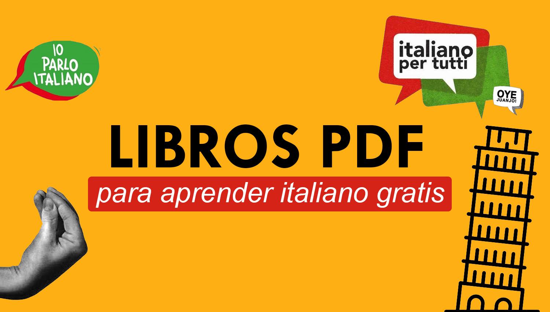 Los Mejores Libros PDF Para Aprender Italiano @tataya.com.mx