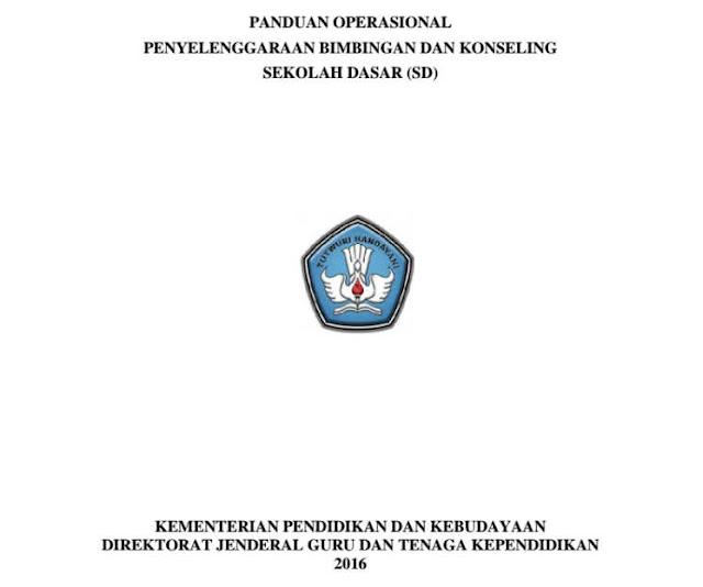 Panduan Operasional Penyelenggaraan BK SD 2016 Ditjen GTK