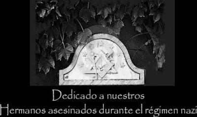 Homenaje a los Masones asesinados por los nazis