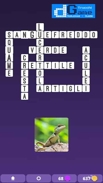 Soluzioni One Clue Crossword livello 3 schema 13 (Cruciverba illustrato)  | Parole e foto