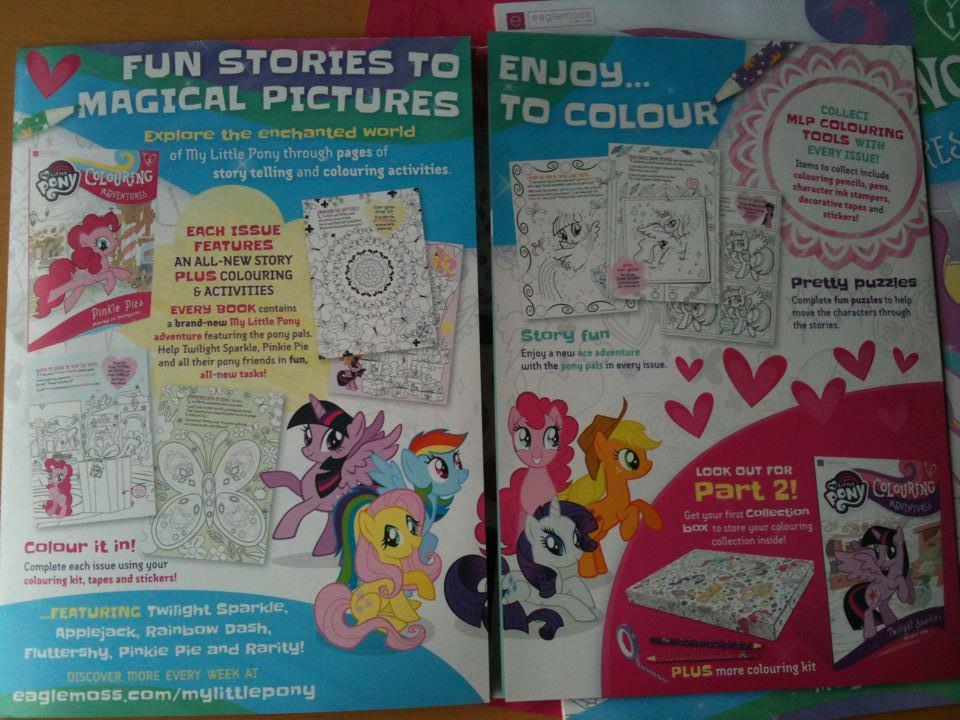 Equestria Daily - MLP Stuff!: MLP Coloring Adventures Is Actually Pretty  Cool! Have Issue 1
