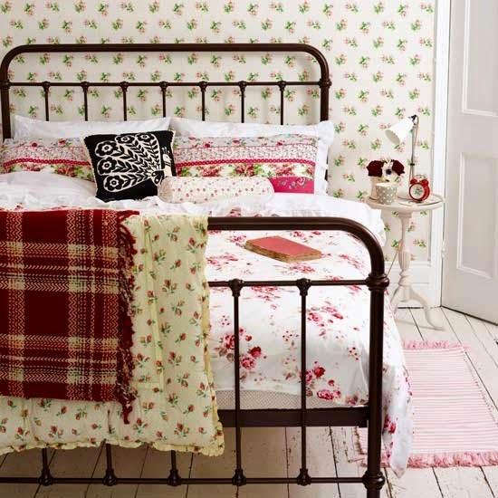 Tips de decoraci n de dormitorios vintage - Camas de hierro antiguas ...