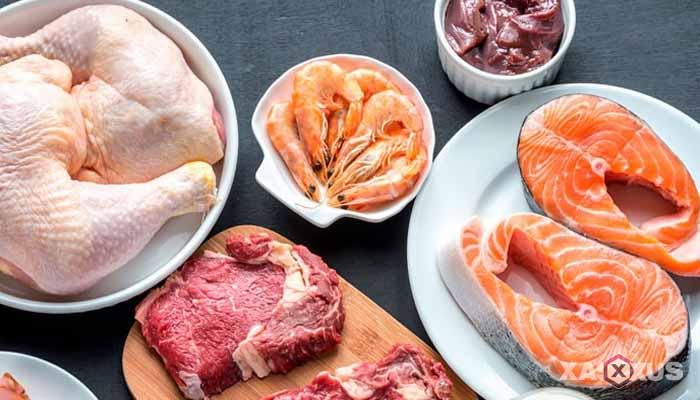 Makanan yang dilarang untuk ibu hamil - Daging dan ikan