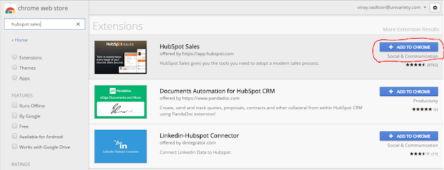 gmail tracking - hubspot sales