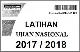 PREDIKSI JITU SOAL UN SMA 2018 Terlengkap