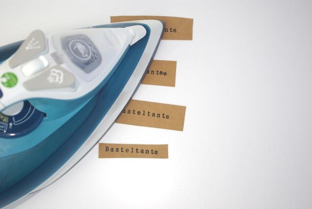 Labels aus SnapPap selber machen