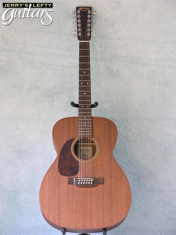 jerry 39 s lefty guitars newest guitar arrivals updated weekly martin j12 15 left handed guitar. Black Bedroom Furniture Sets. Home Design Ideas