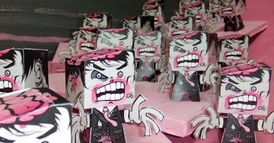 Carta forbici e Zombie: è l'ora di Art Attack!