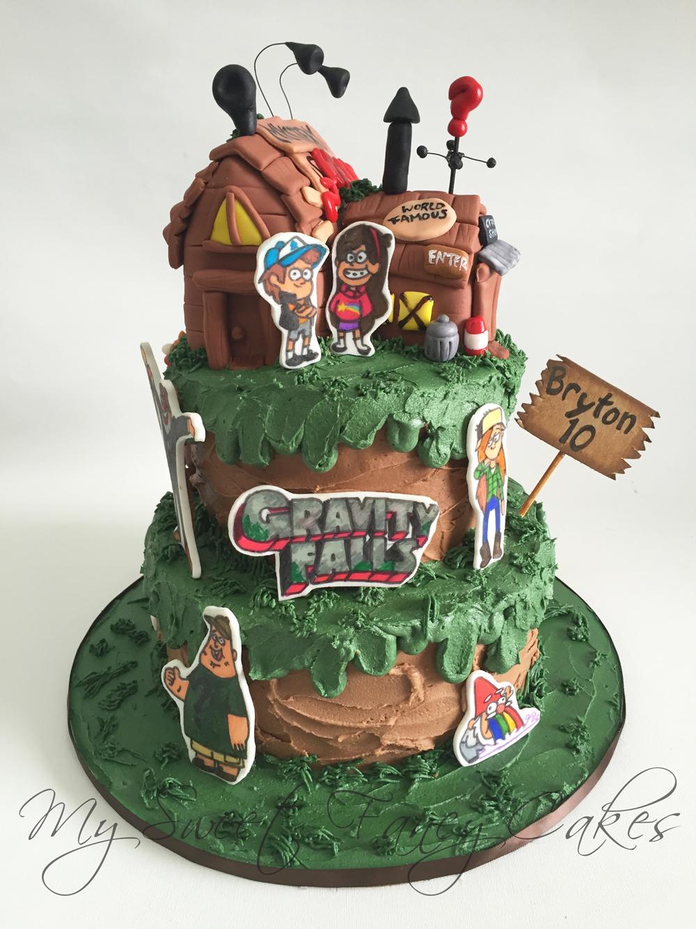 Gravity Cake Chack Falls