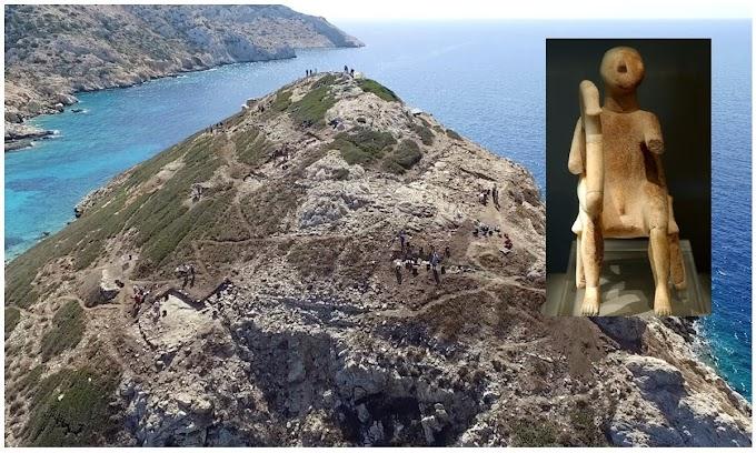 Το αρχαιότερο ιερό  βρίσκεται απέναντι από το Κουφονήσι