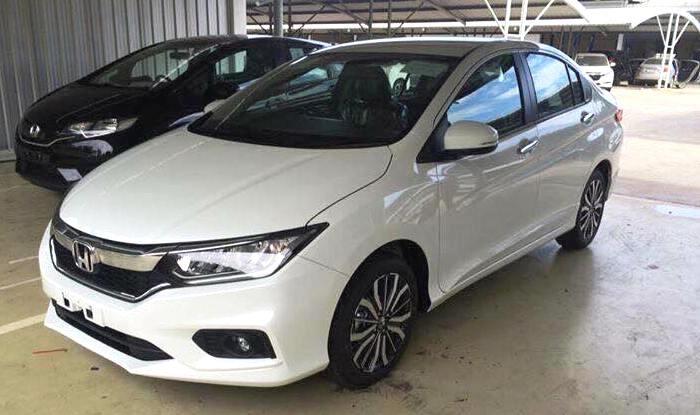 Novo Honda City 2017 ganha 'cara' da nova geração do Civic