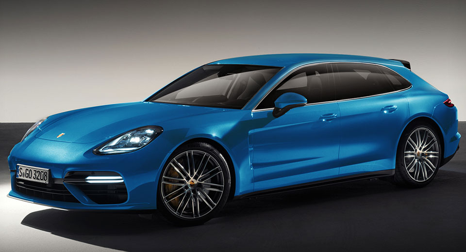 Sport Turismo-Inspired Porsche Panamera Shooting Brake Set To Stun