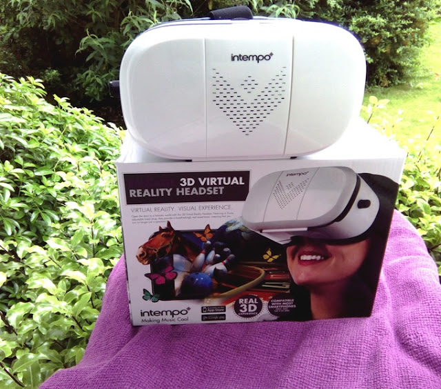 a1914ffe873a Intempo 3D Virtual Reality Headset With Optical Spherical Lenses ...