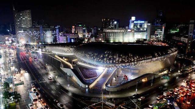 Bangunan paling wajib dikunjungi saat ke korea selatan dongdaemun design plaza DDP