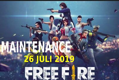 Pada tanggal 26 Juli 2019 Free Fire mengalami maintenance. Dan pada maintenance ini di lakukan karena adanya proses update pada game. Dan berikut beberapa hal baru yang telah di tambahkan pada update Free Fire di Juni 2019.