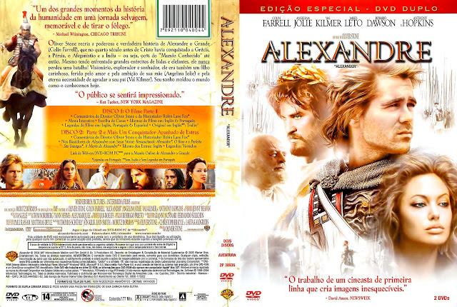 Capa DVD Alexandre