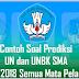 Kumpulan Latihan Soal UN SMA/MA Tahun Pelajaran 2017/2018