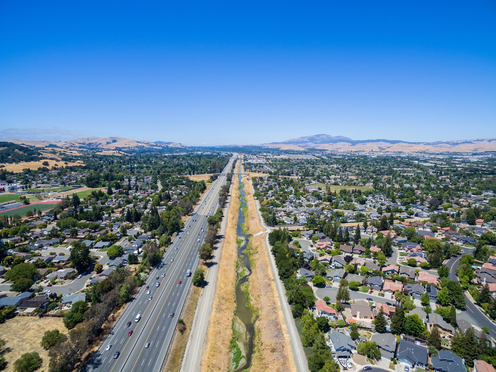 Naturetastic Blog: Del Prado Park (Aerial Photography