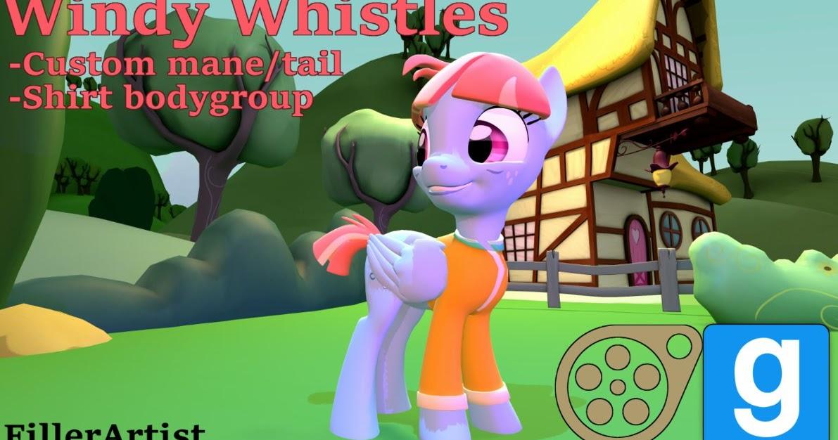 Equestria Daily Mlp Stuff Sfm Gmod Models For Windy