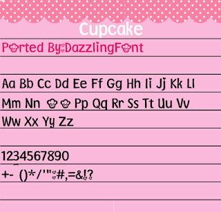Cupcake Font For Vivo