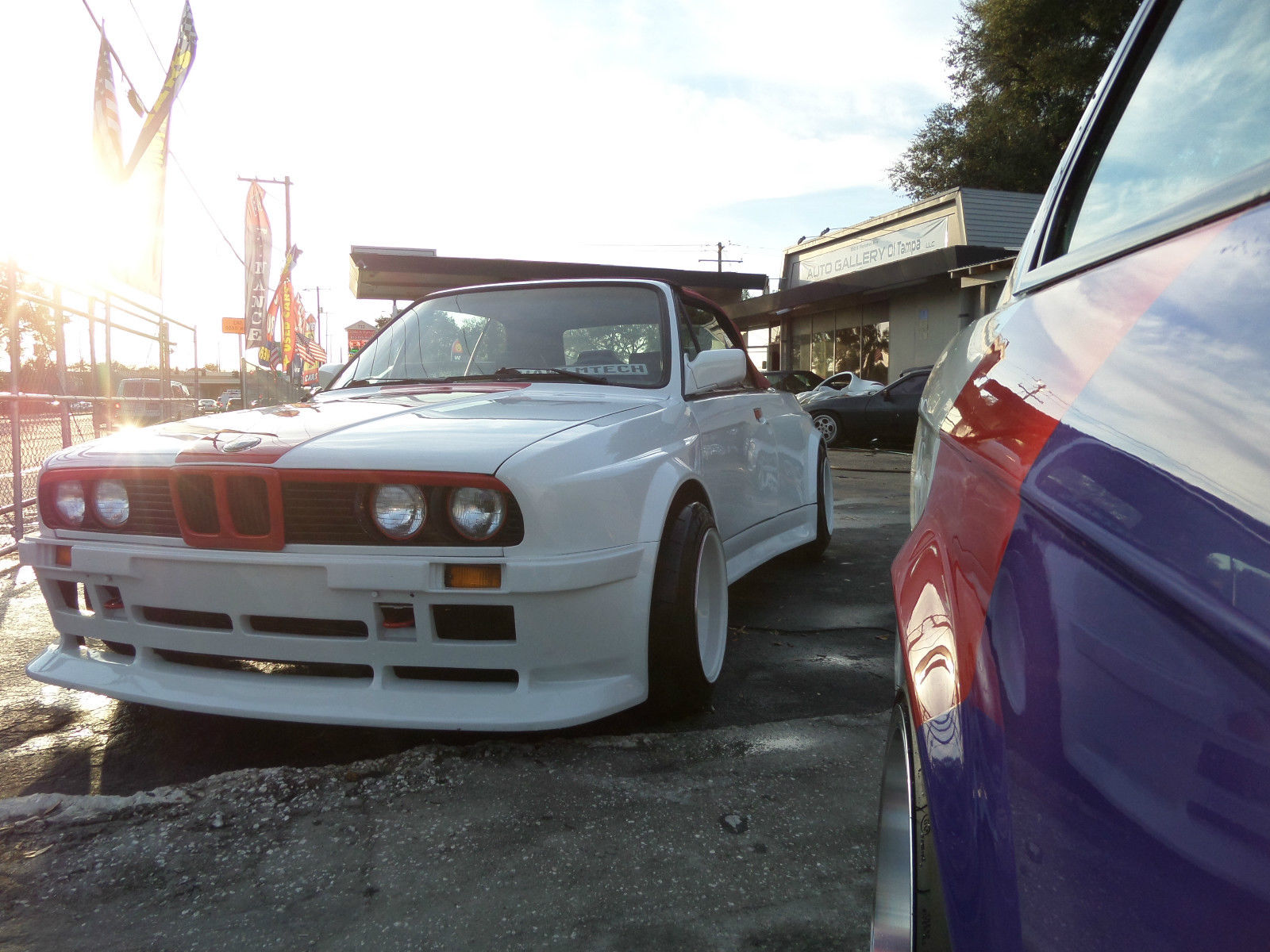 This 1987 BMW 325i Convertible Looks Like A Pregnant Guppy | Carscoops