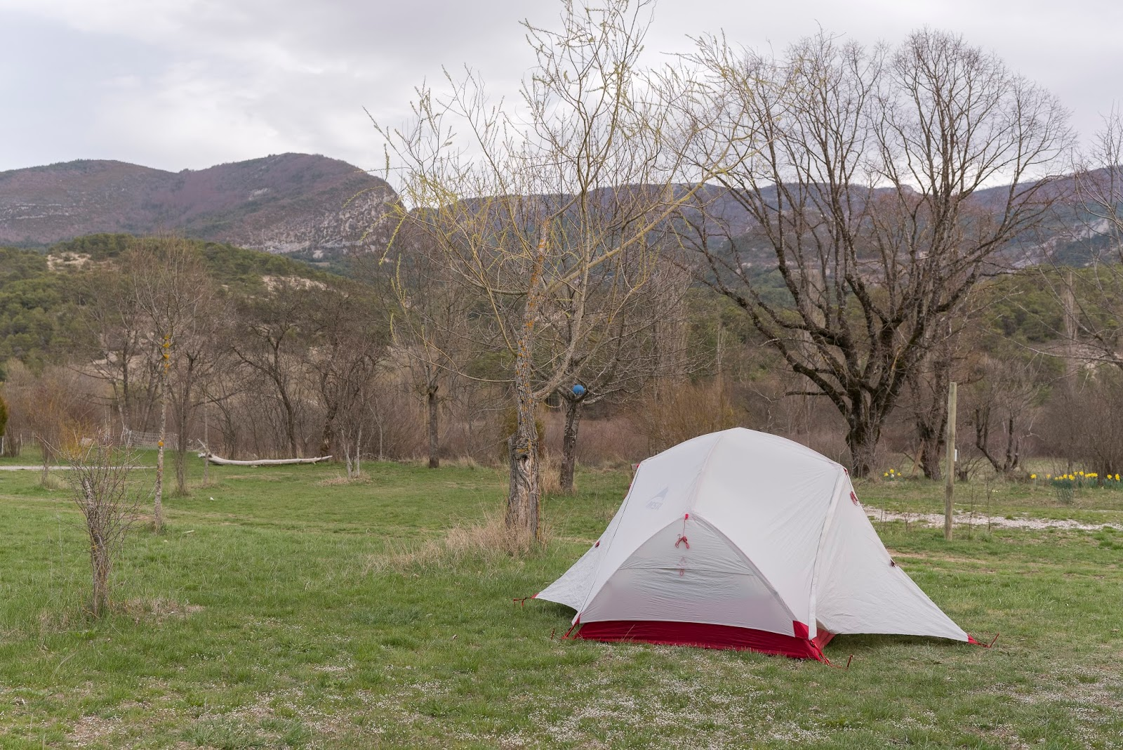 Orpierre escalade camping les Catoyes