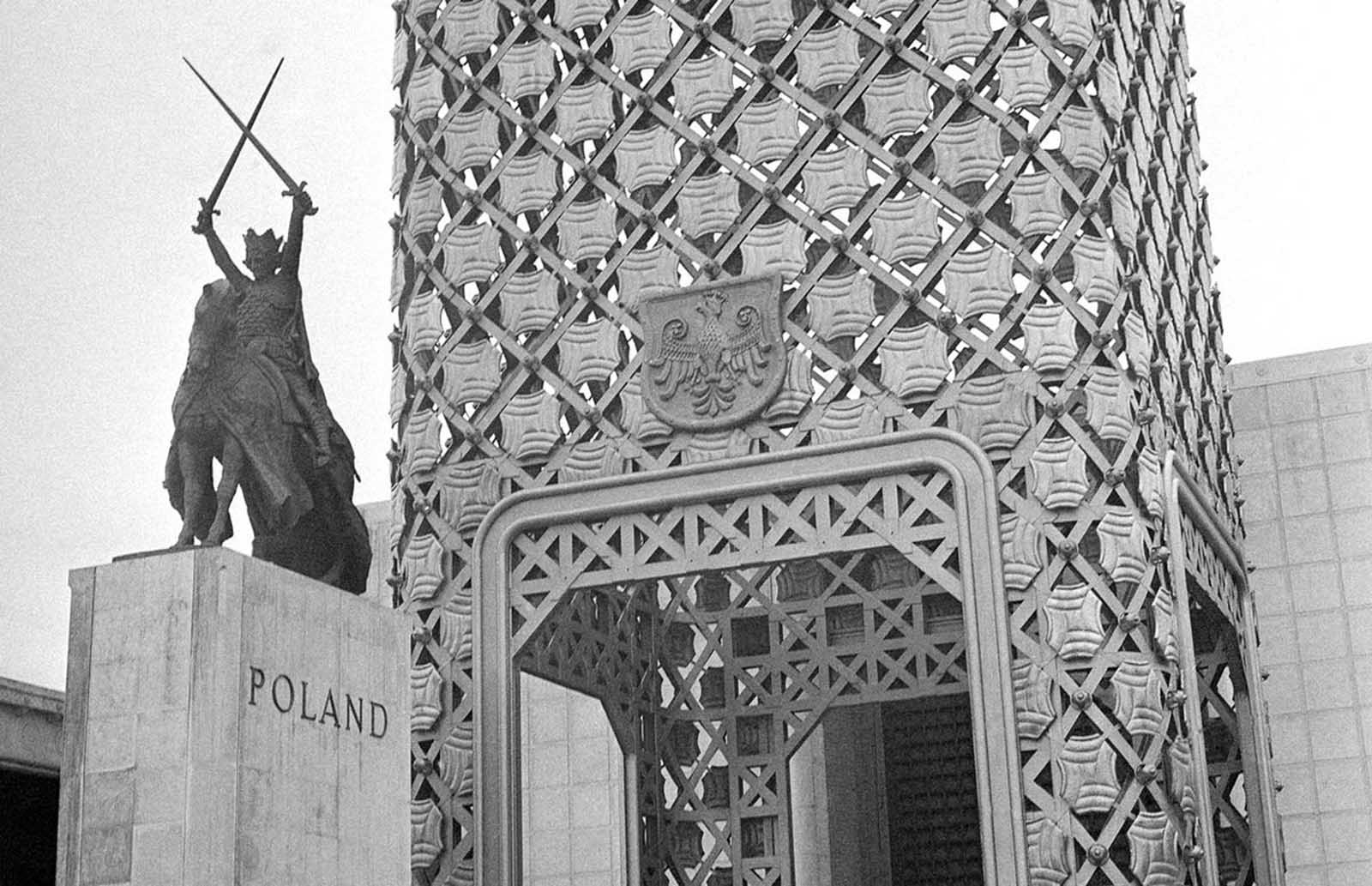 Poland's pavilion at the New York World's Fair.