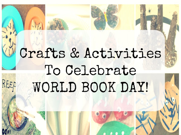 Celebrate World Book Day With Fun Book Themed Activities!
