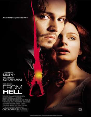 Poster Of From Hell 2001 English 350MB BRRip 480p ESubs Watch Online Free Download downloadhub.net