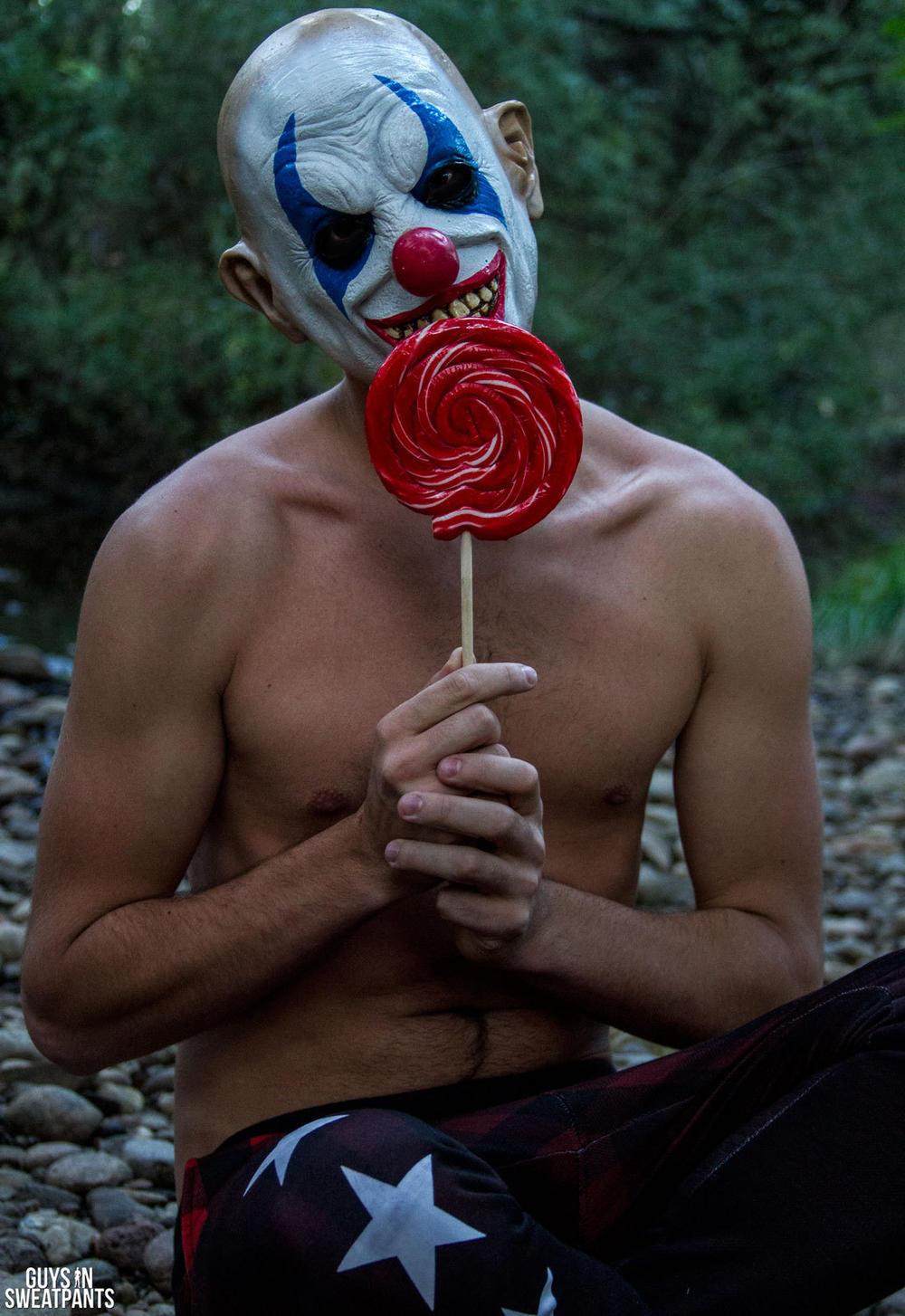 Gay Clown Porn - Guys In Sweatpants Makes Evil Clown Porn