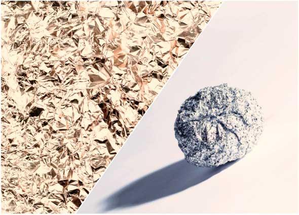 aluminio, papel, trucos, tips, casero, life hacks
