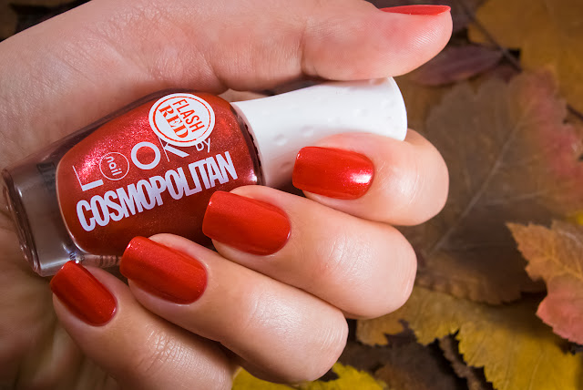 Naillook by Cosmopolitan 3144 Mat Red