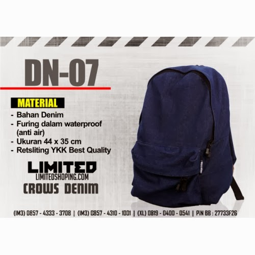 http://limitedshoping.com/crows-denim-bag/denim-backpack_dn-07
