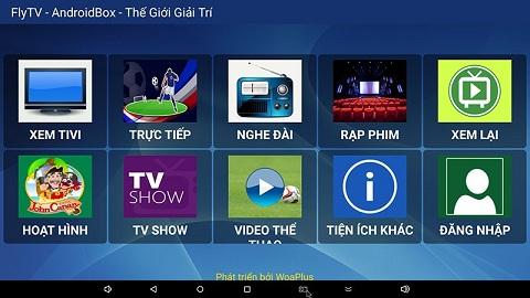 Xem bóng đá bằng sopcast trên Smart Tivi