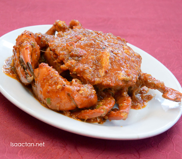 Chili Crab (Seaonal pricing)