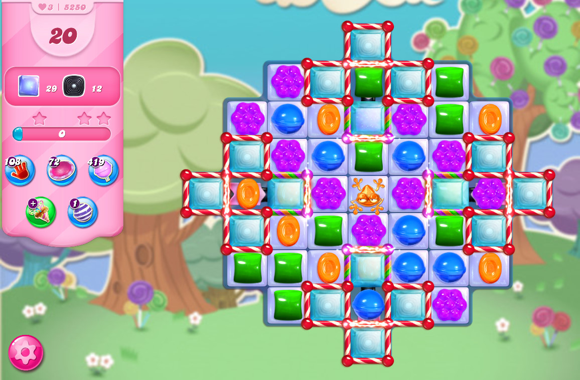 Candy Crush Saga level 5250