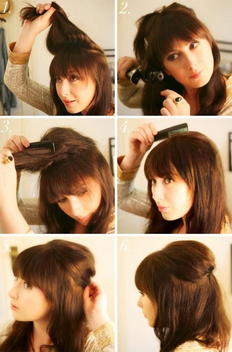 Peinados casuales y faciles paso a paso