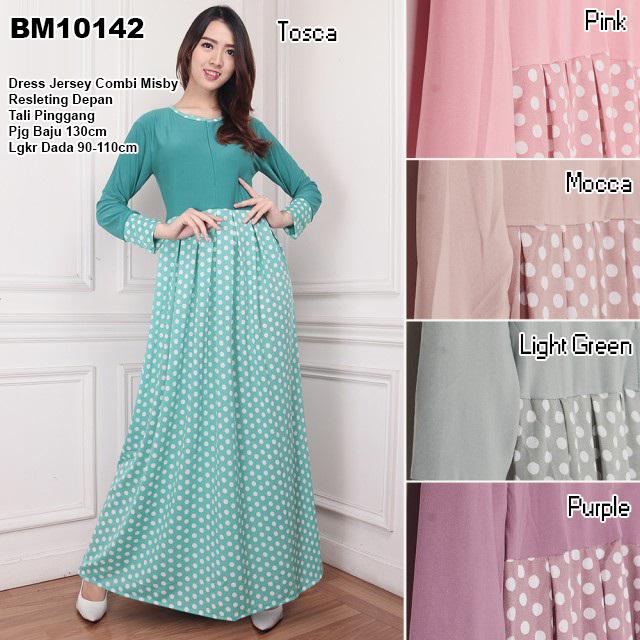 Bursa Grosir Busana Muslim Tanah Abang Bm10142 Long Dress