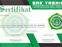 Design Sertifikat MOPDB SMK Yasmida Ambarawa